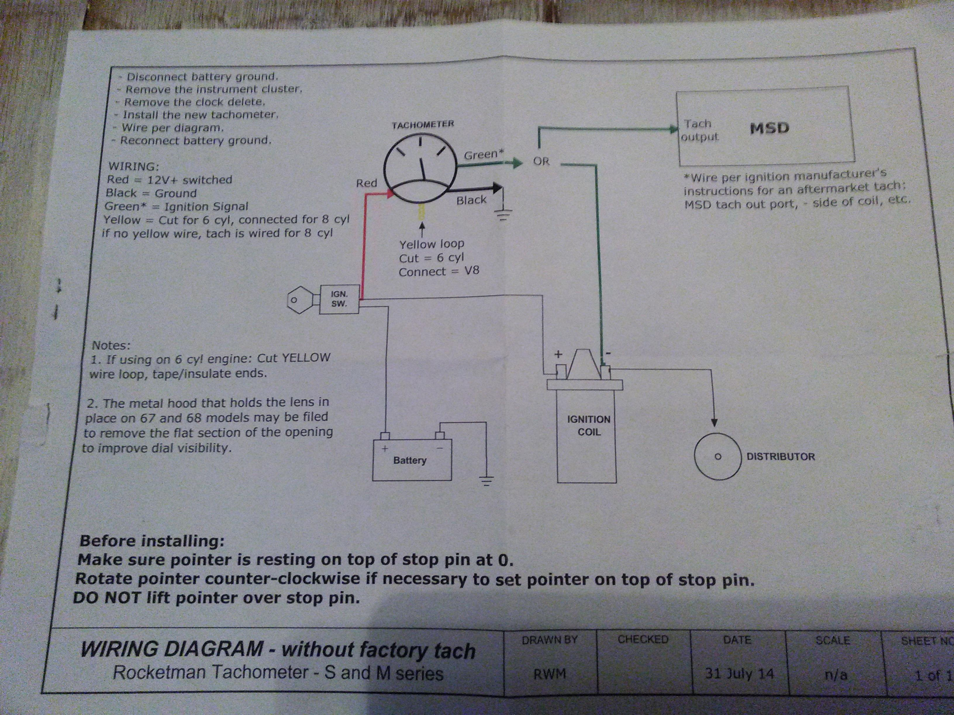 Wiring Diagram For 1966 Dodge Power Wagon Trusted Diagrams 1960 Aftermarket Tach Ford Mustang Circuit