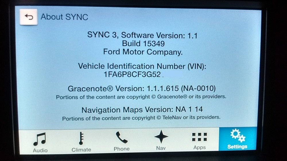sync ford update download
