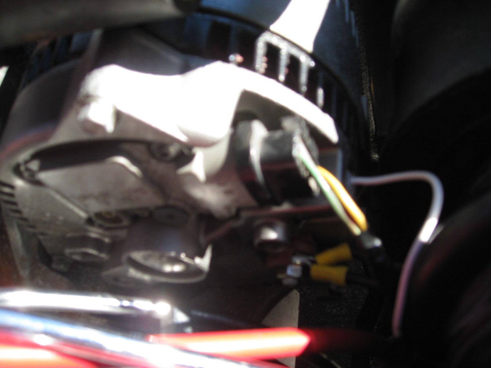 Low Voltage While Running After 3g 130 Amp Alternator Install Ford Gauge Mounting Problems Click Image For Larger Version Name Img 2255 Views 4459 Size 2792