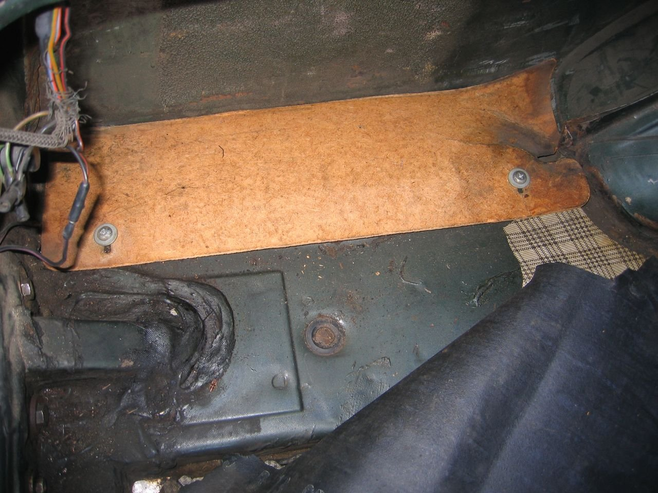 1966 Mustang Trunk Filler Board Ford Mustang Forum