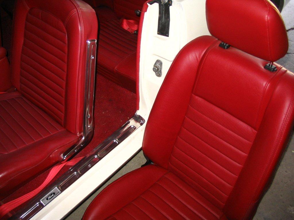 1965 mustang bucket seats