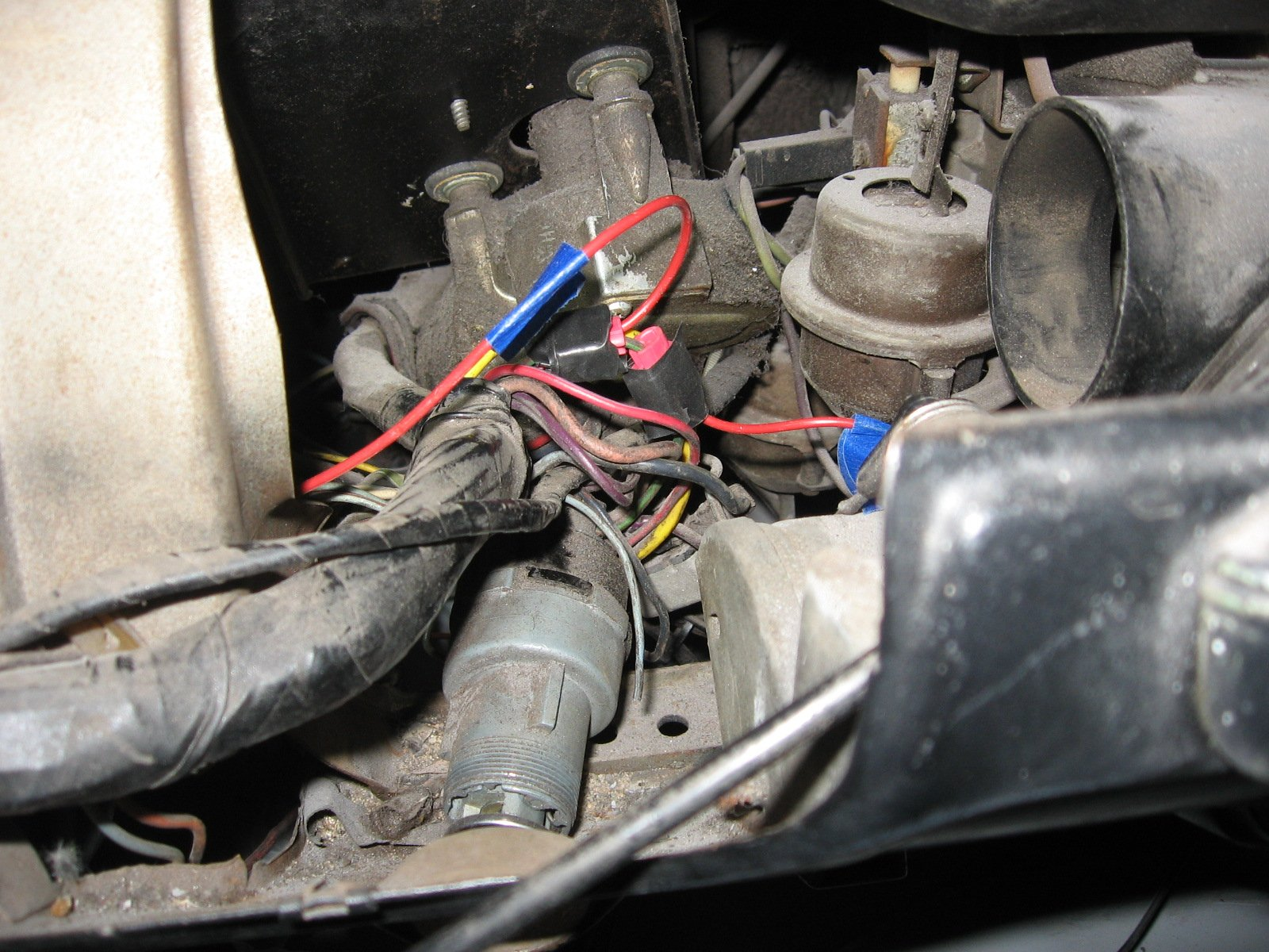 350810d1401329026 ways bypass resistor wire img_2421 ways to bypass resistor wire? ford mustang forum External Resistor Coil Wiring at gsmx.co