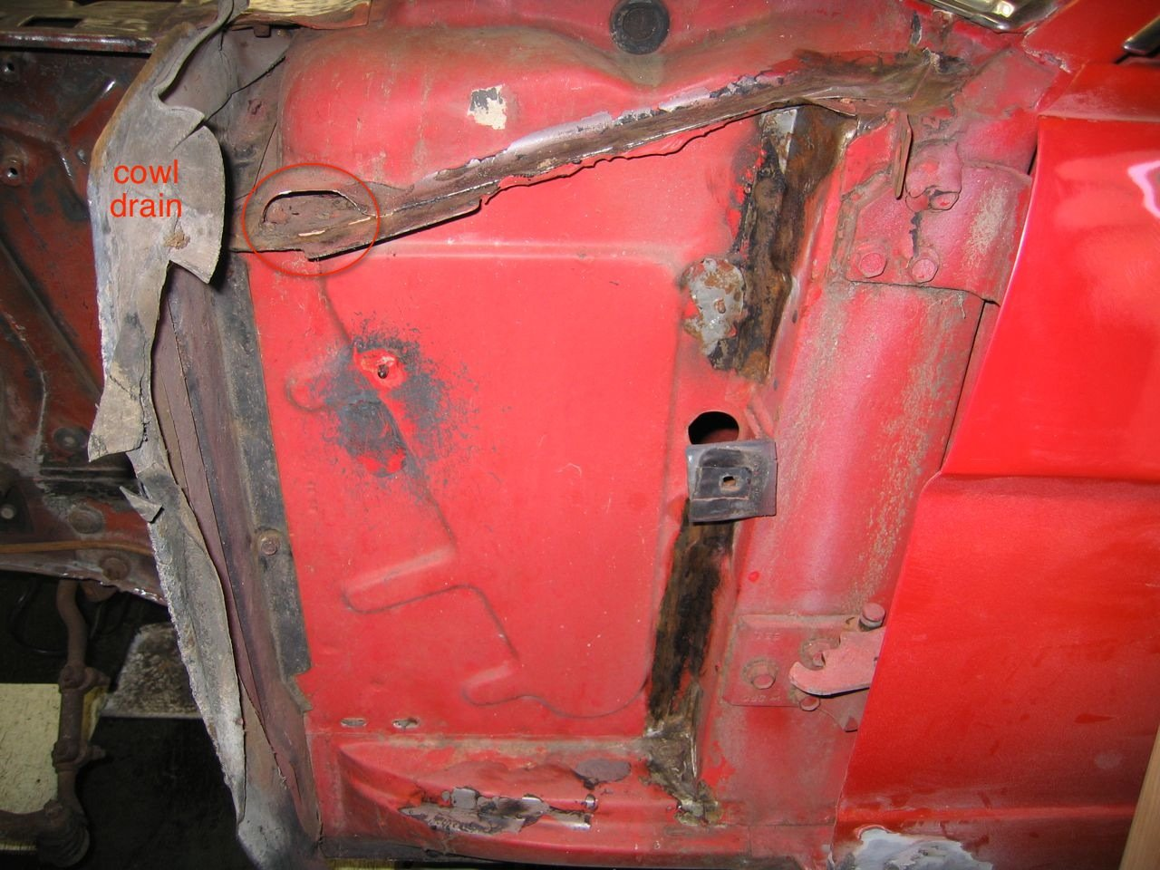 04 Mustang Gt >> 1968 Mustang cowl vent drain lines/holes? - Ford Mustang Forum