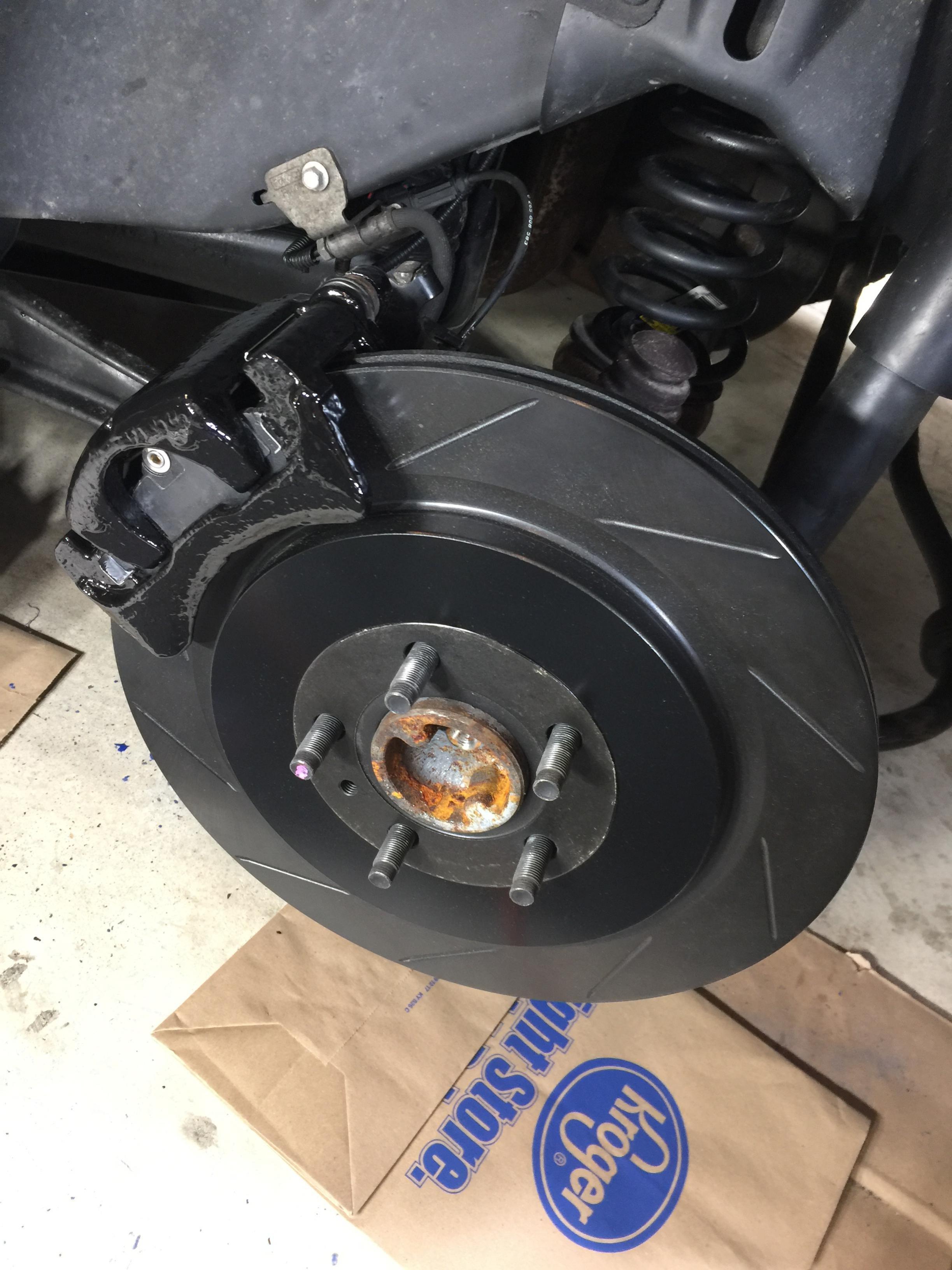 2007 Gt Big Brake Upgrade Diy Ford Mustang Forum