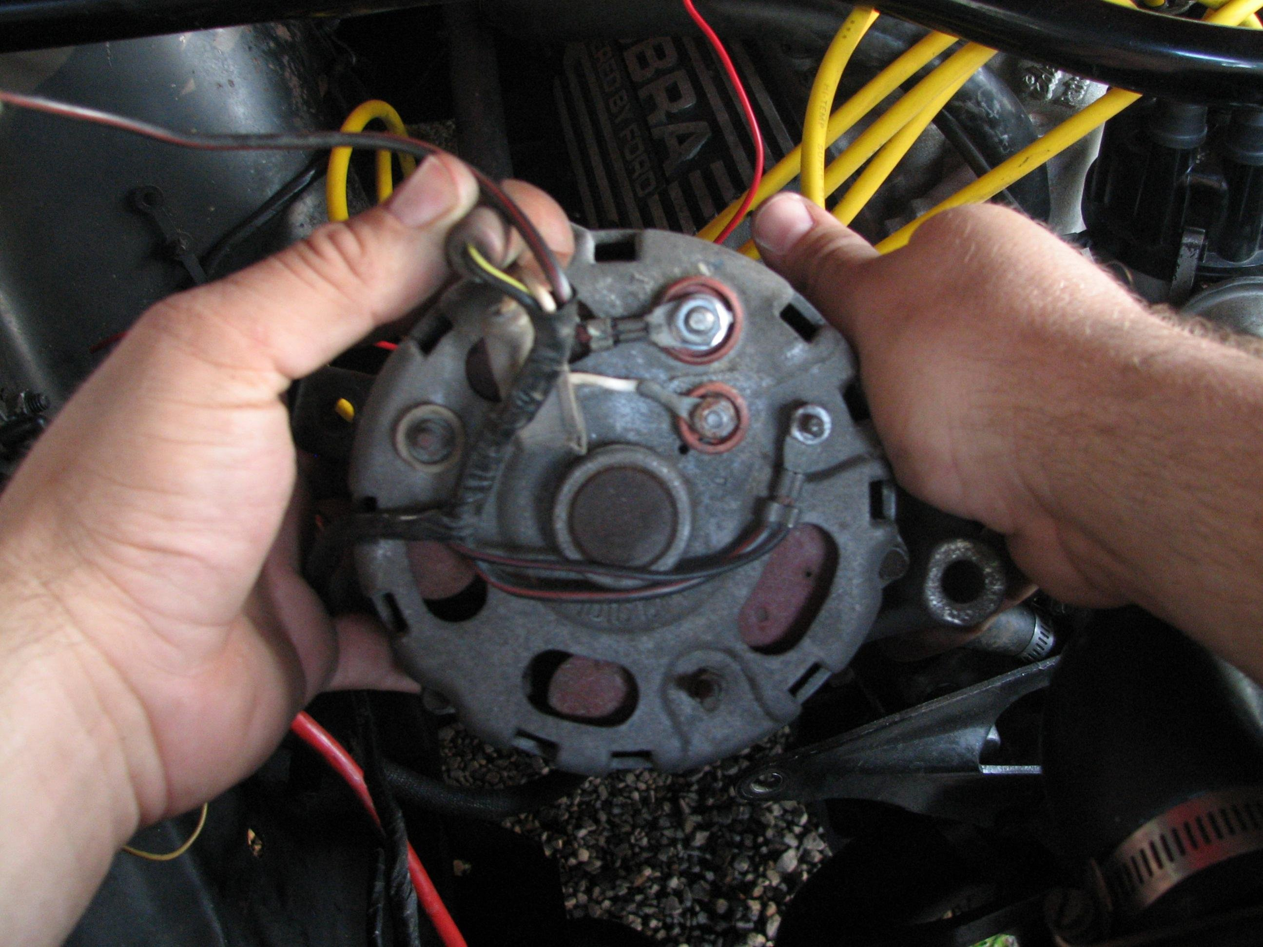 Stator Terminal On The Alternator Ford Mustang Forum