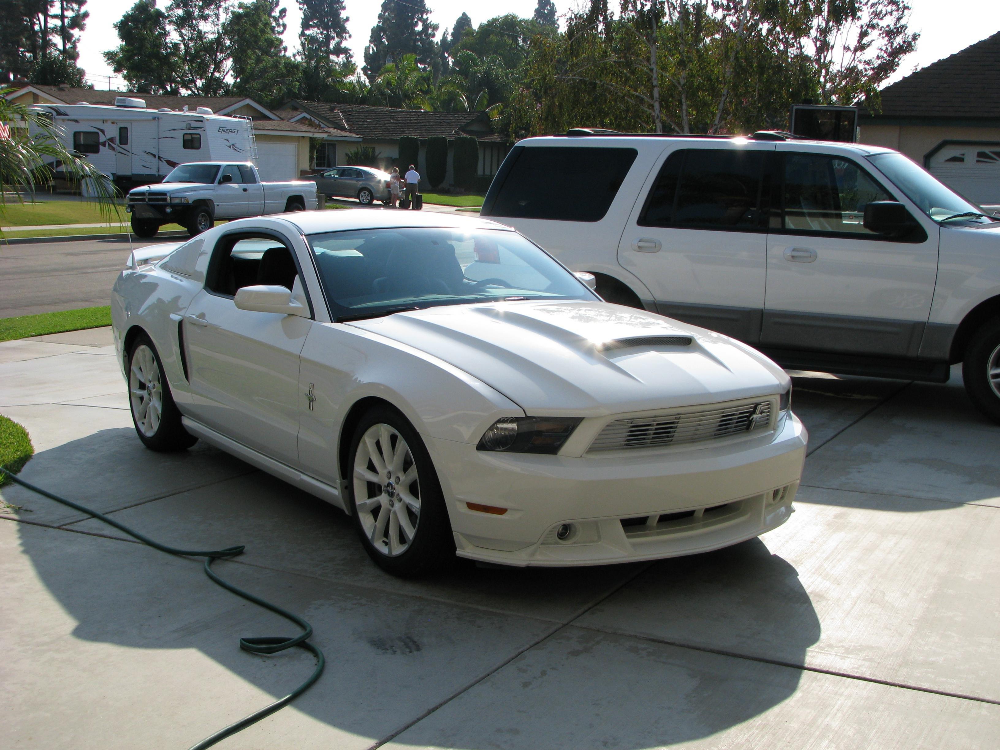 The New Vis Stalker Hood Ford Mustang Forum