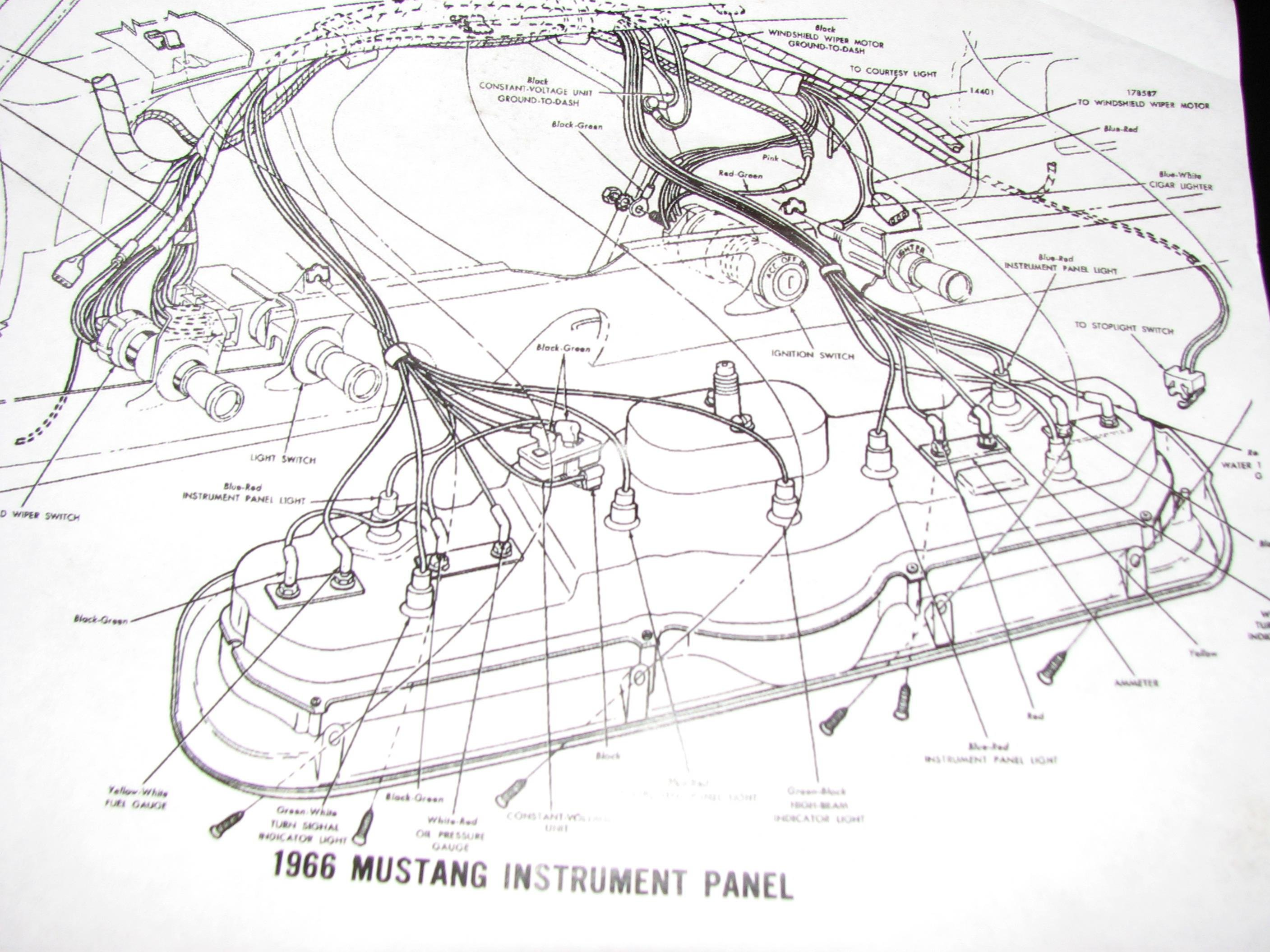 1966 Mustang Wiring Diagrams Readingrat Net