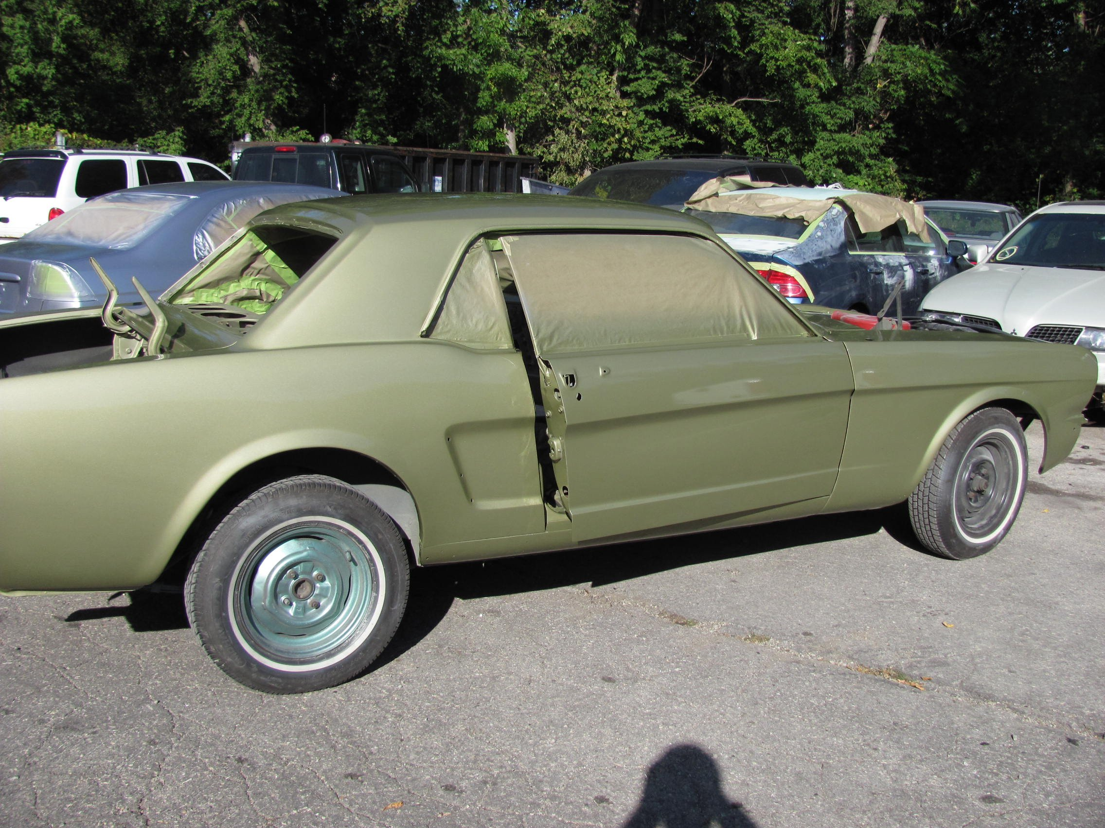 Right Guy To Restore My Honey Gold 1965 Coupe Ford