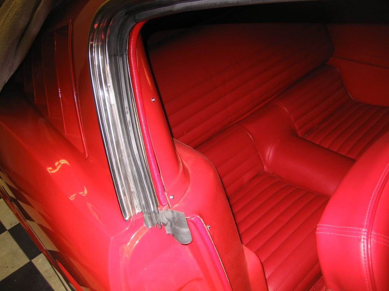 Weather Stripping Question 65 Coupe Ford Mustang Forum