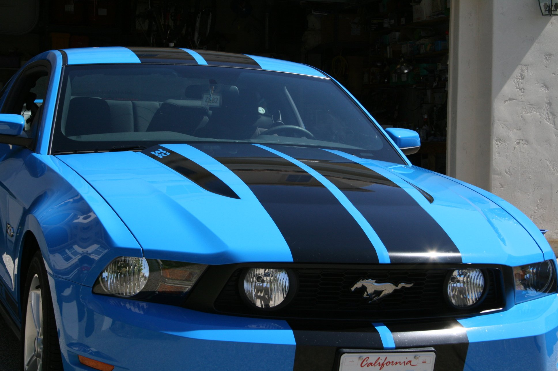 Hood Scoop Amp Spears Stripe Decals Ford Mustang Forum