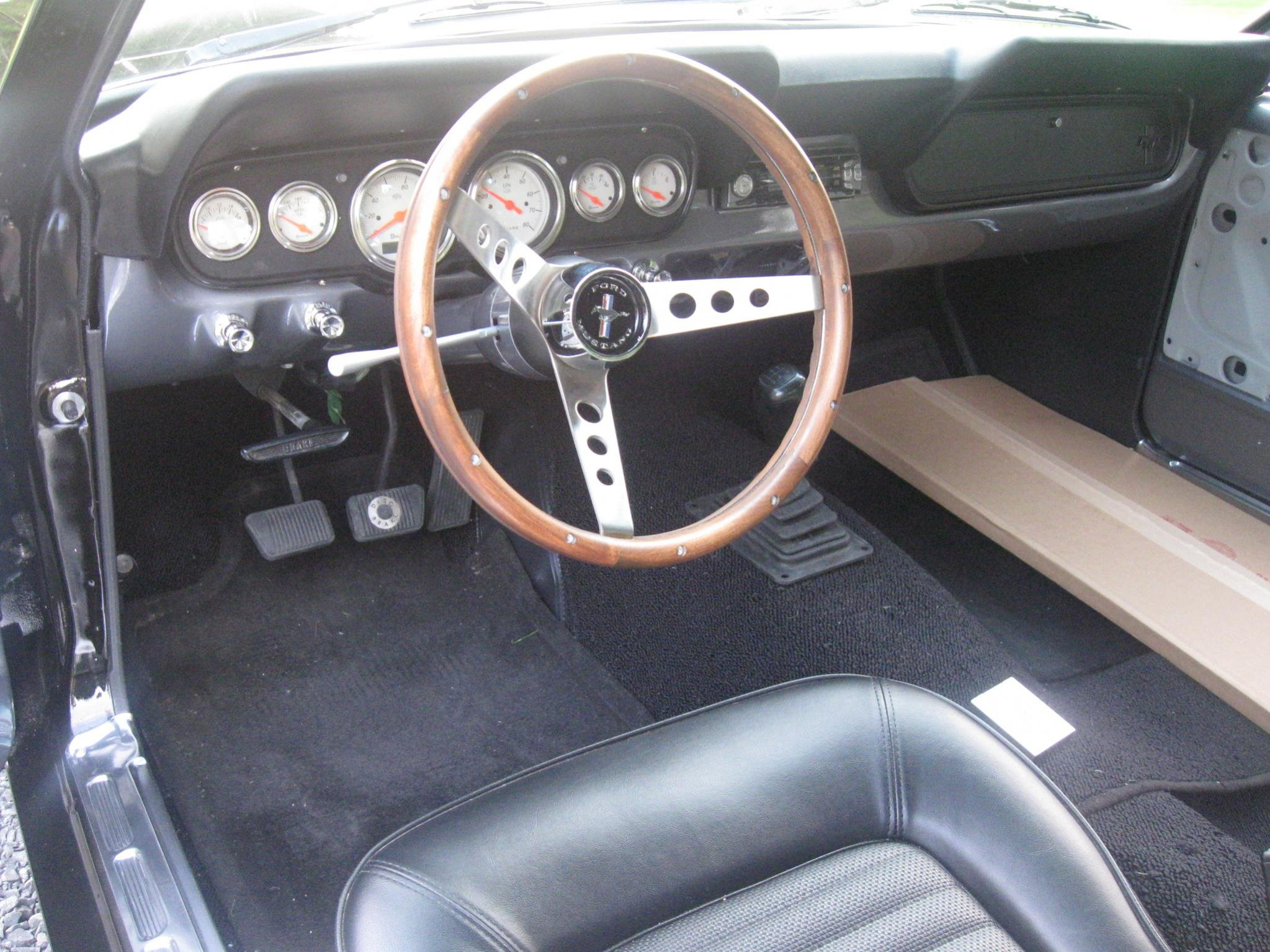 Anyone Using A 6 Gauge Instrument Cluster In 1966 Ford