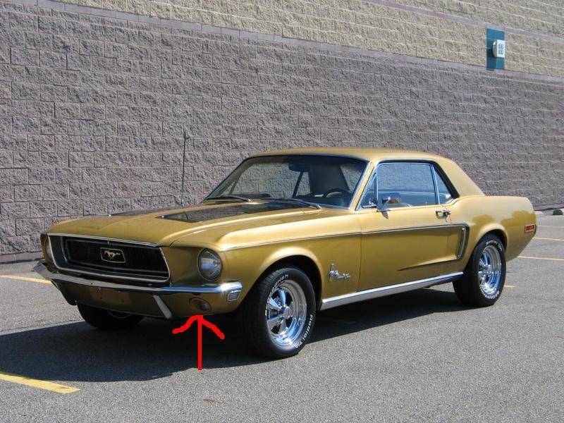 Turn Signal Help  1968 Mustang