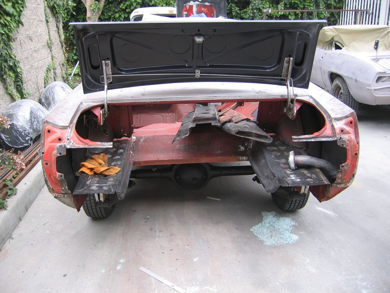 65 Mustang Convertible >> 1966 Mustang rear quarter panel and taillight panel - Ford Mustang Forum