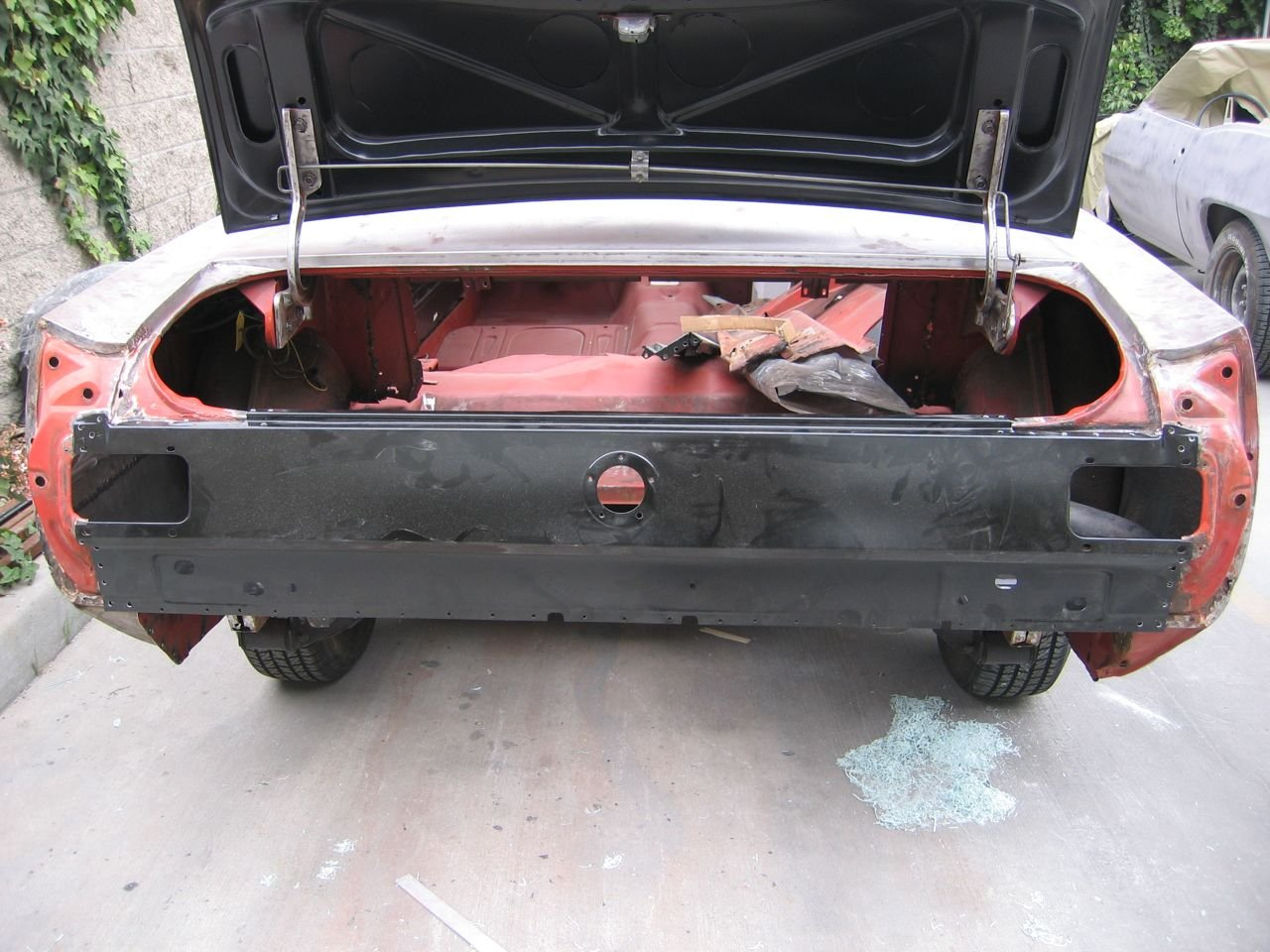 1966 Mustang Rear Quarter Panel And Taillight Panel Ford