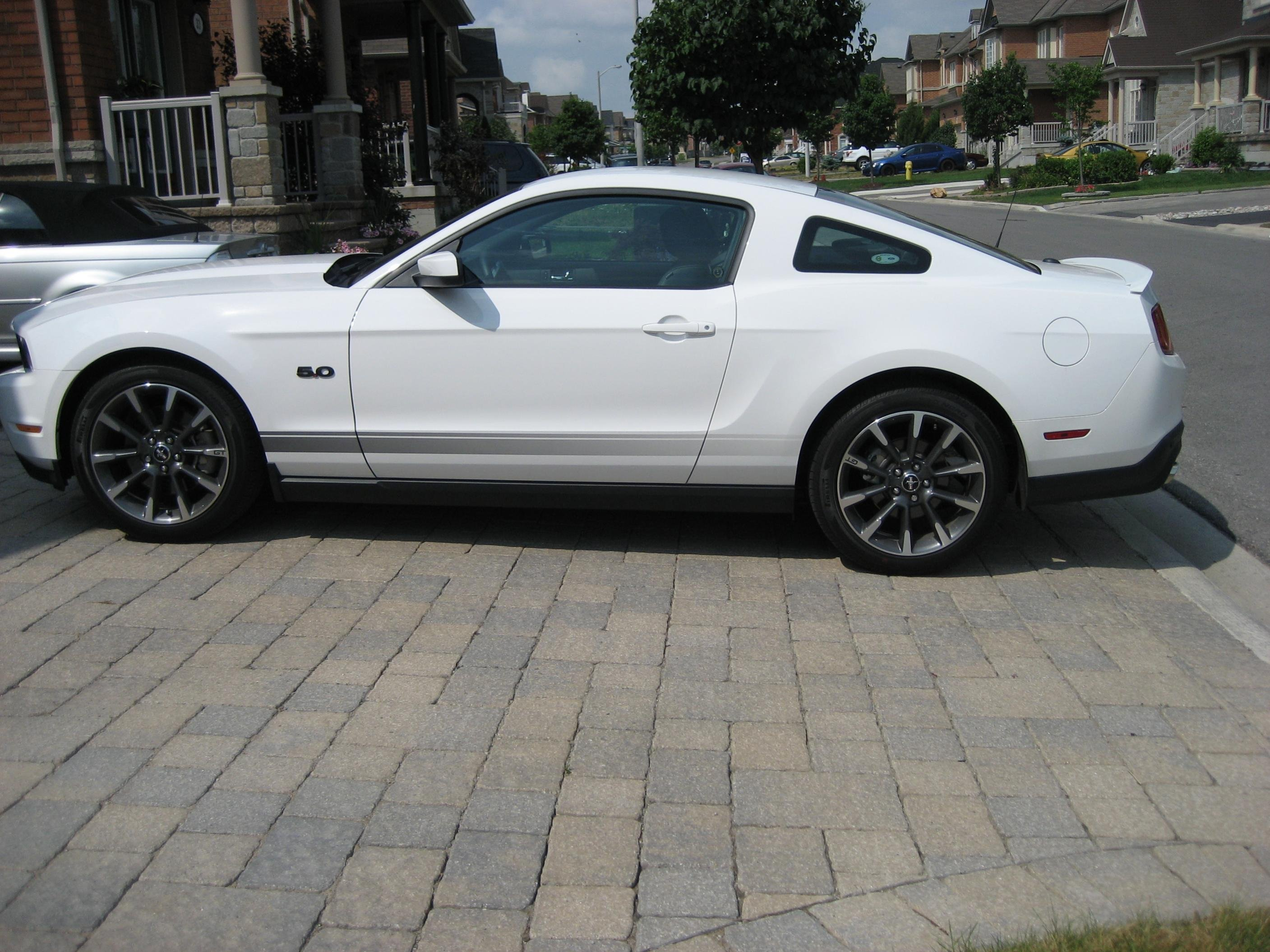 Rocker Panel Fade Stripes Installed Ford Mustang Forum