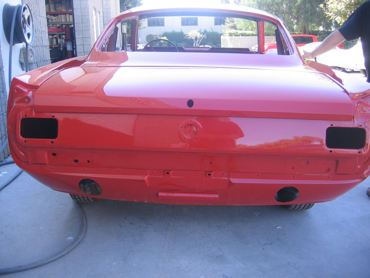 1966 Mustang Coupe Rear Valance Ford Mustang Forum