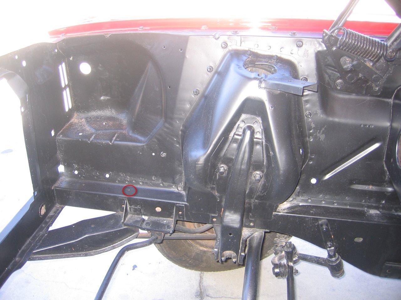 1968 Mustang Battery
