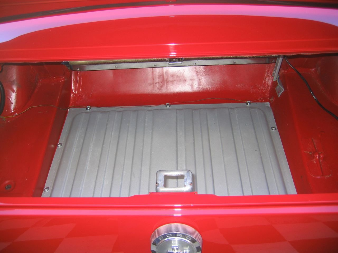 1964 1 2 Mustang Trunk Area Ford Mustang Forum