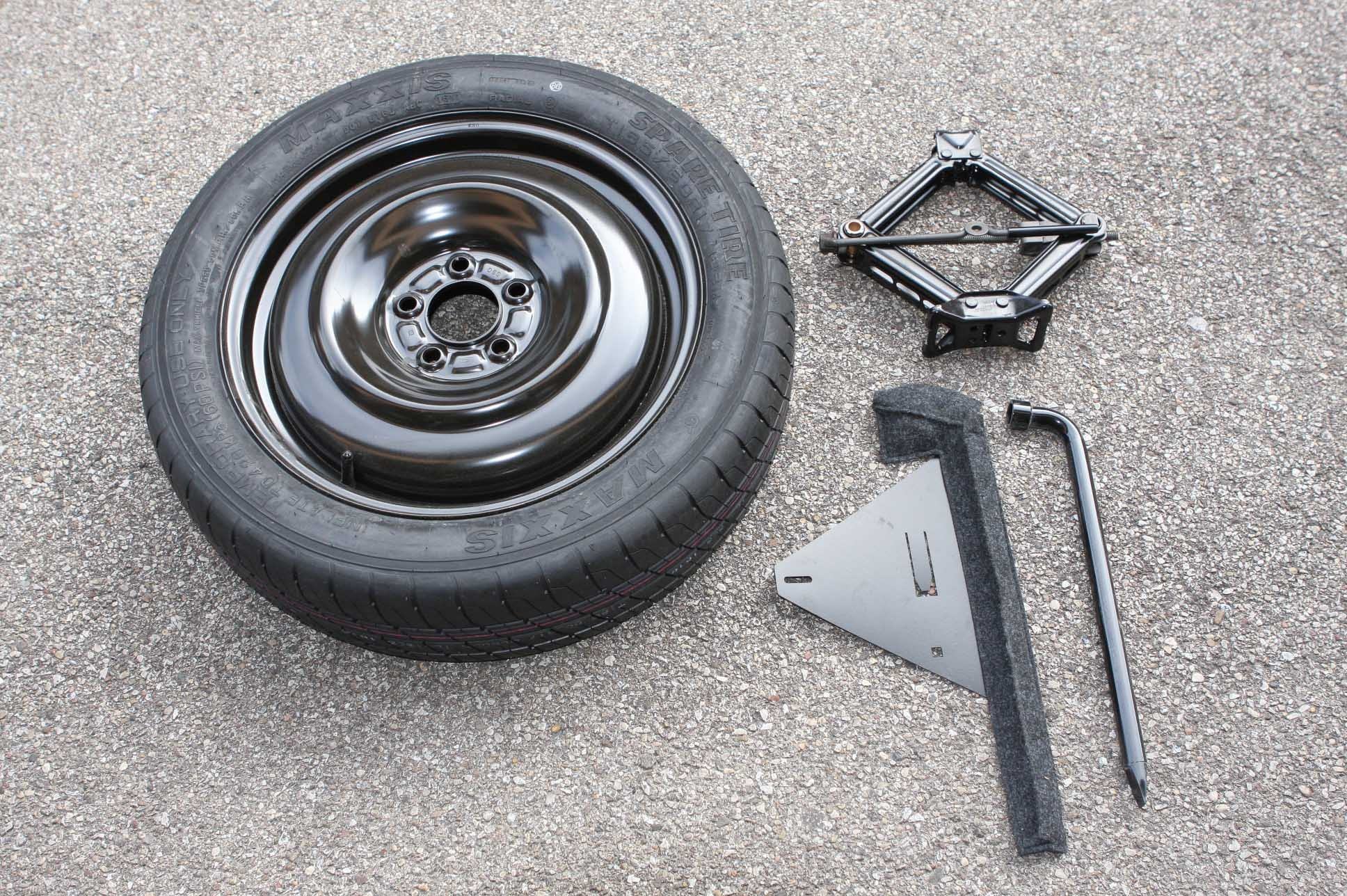 Factory Spare Tire Kit Is Available Page 4 Ford