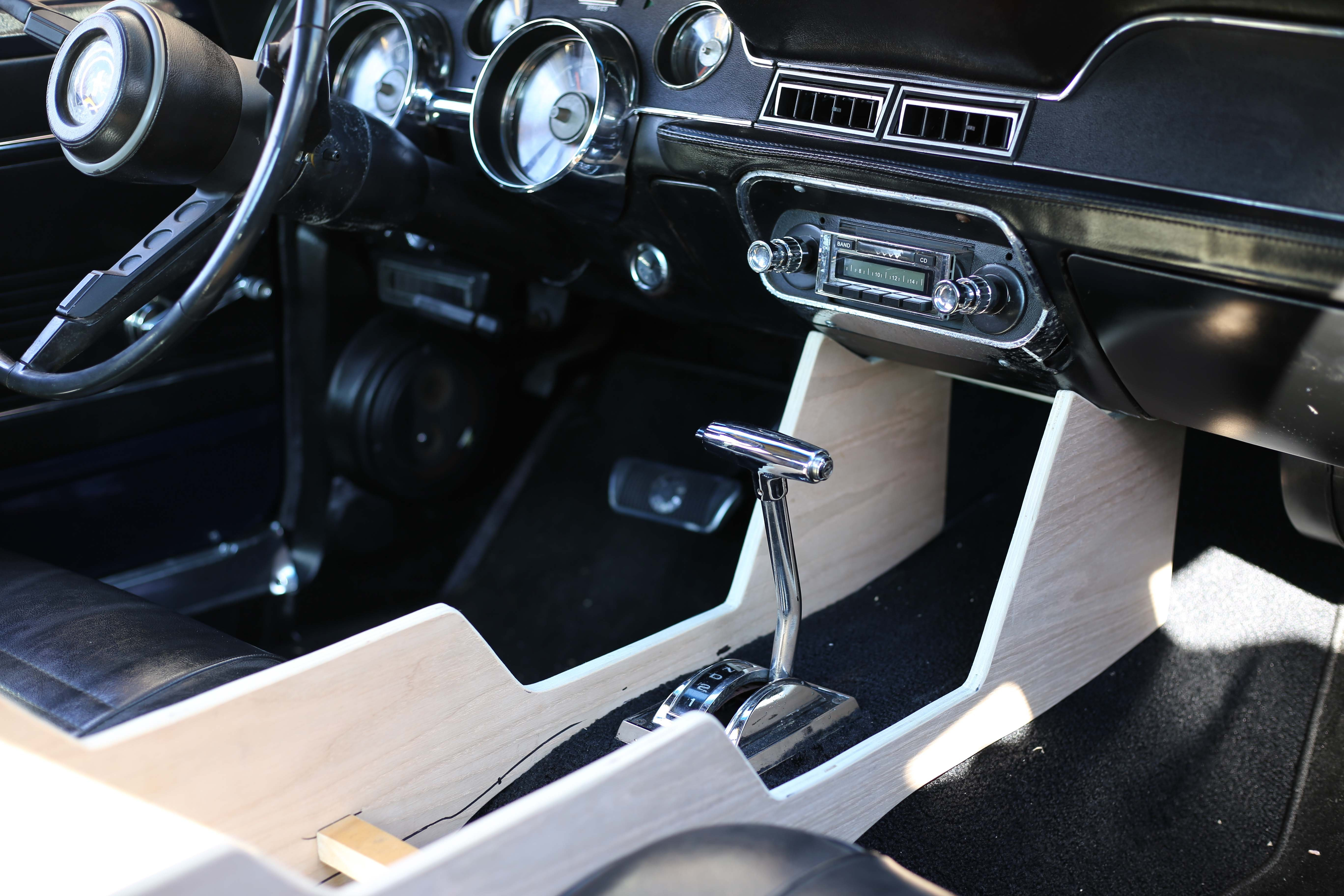 Create/Build a center console for 67 Fastback? - Ford ...