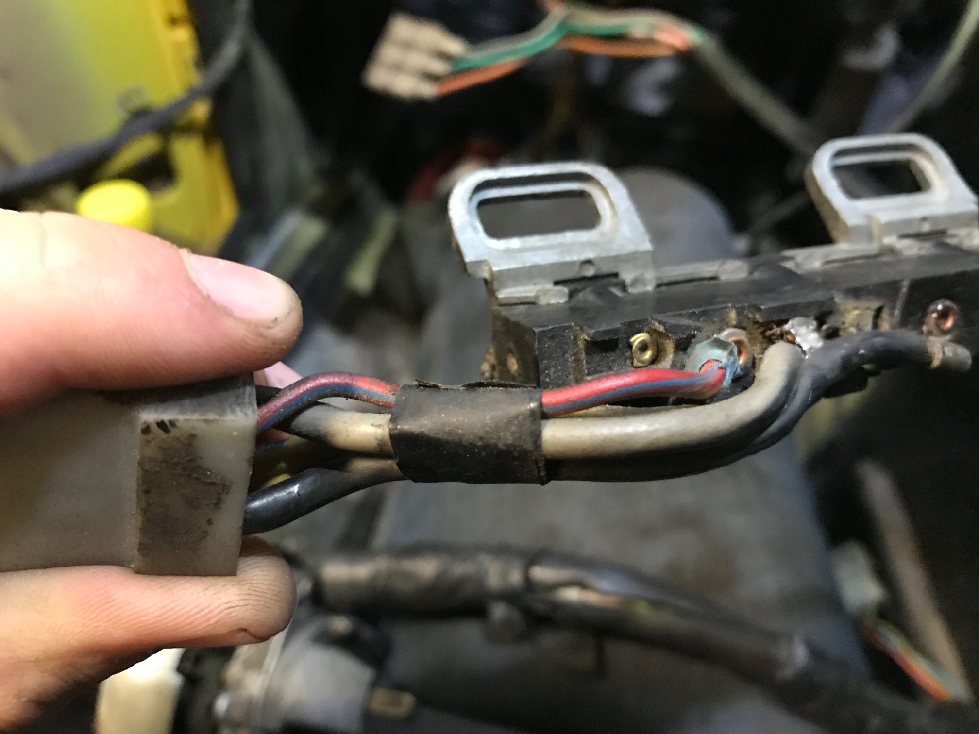 Wiring Ignition Switch 72 Mustang