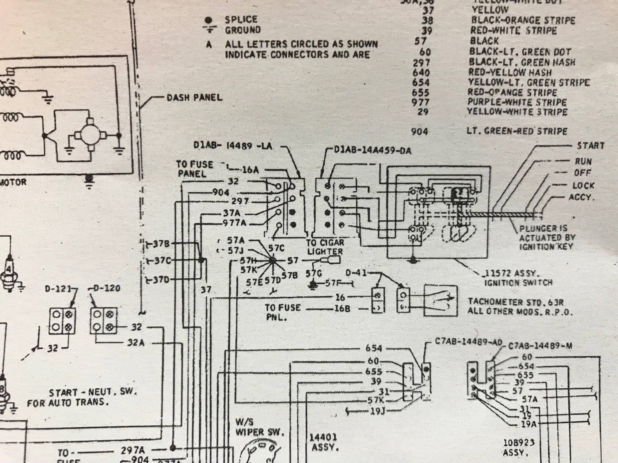 Wiring Diagrams On Wiring Diagram Also 1965 Mustang Ignition Switch