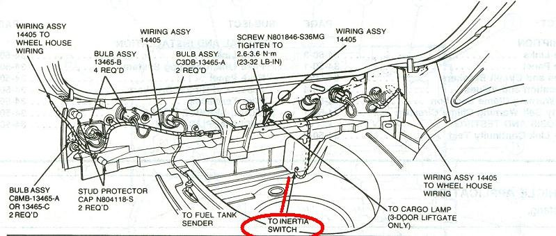 094cq Need Diagram Fuse Box 2000 Ford E250 together with Ford E Series E 150 E150 E 150 1997 Fuse Box Diagram in addition Ford Mustang V6 And Ford Mustang Gt 2005 2014 Fuse Box Diagram 400063 further Ford F350 Super Duty Wiring Diagram additionally 238102 1989 Mustang 5 0 Lx Sport Inertia Switch I Need Pics. on ford f 250 fuel pump relay