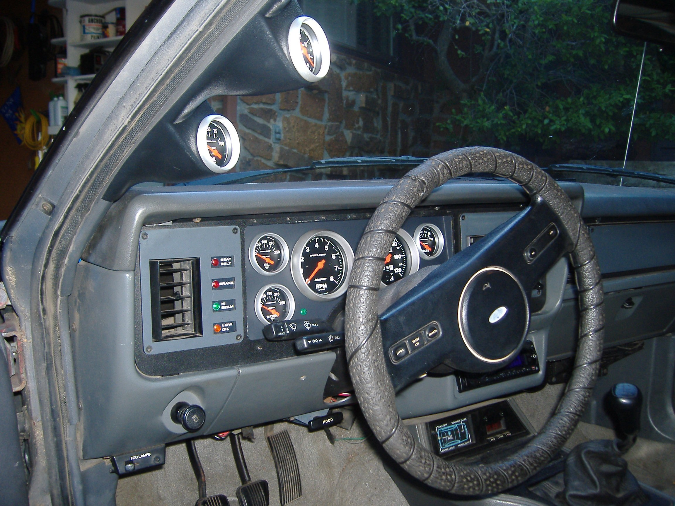 1986 mustang gt gauges ford mustang forum. Black Bedroom Furniture Sets. Home Design Ideas