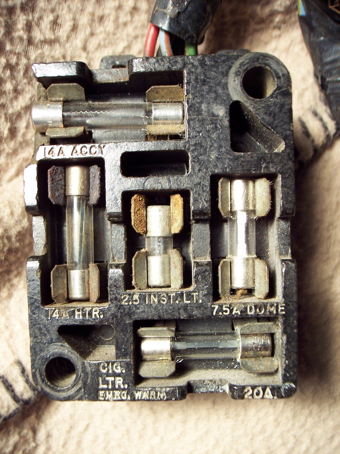 [WQZT_9871]  1965 Mustang fuse panel / fuse box diagram? | Ford Mustang Forum | 1966 Mustang Fuse Box Wiring |  | All Ford Mustangs