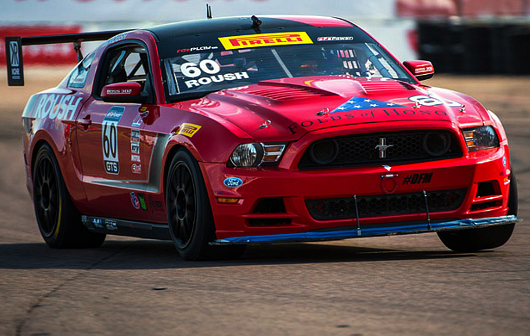 Roush Racing Boss 302's Place 1st and 3rd in St.Petersburg