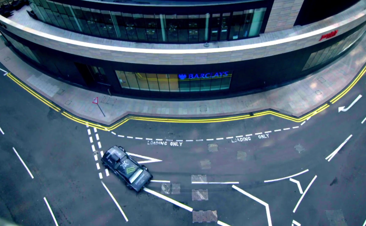 Ken Block Inappropriately Touches the City of London…