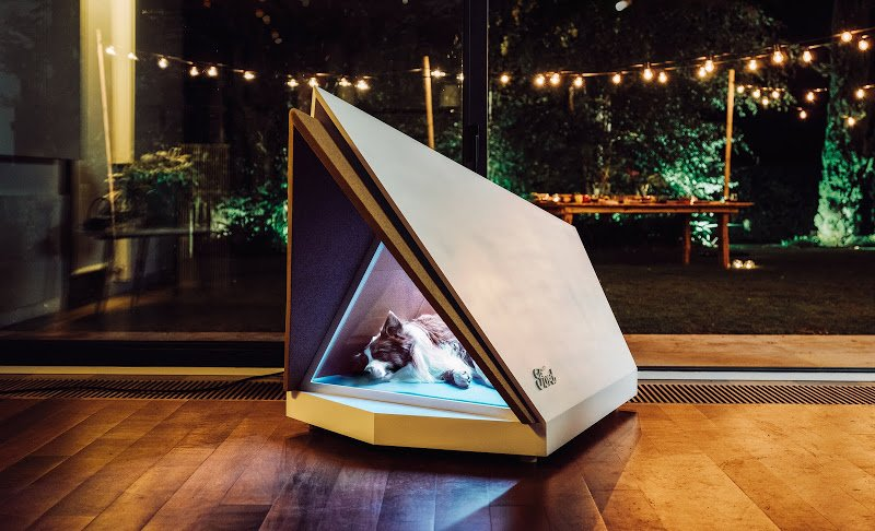 Ford Protects Dogs from Terror of Fireworks with Noise Canceling Dog House