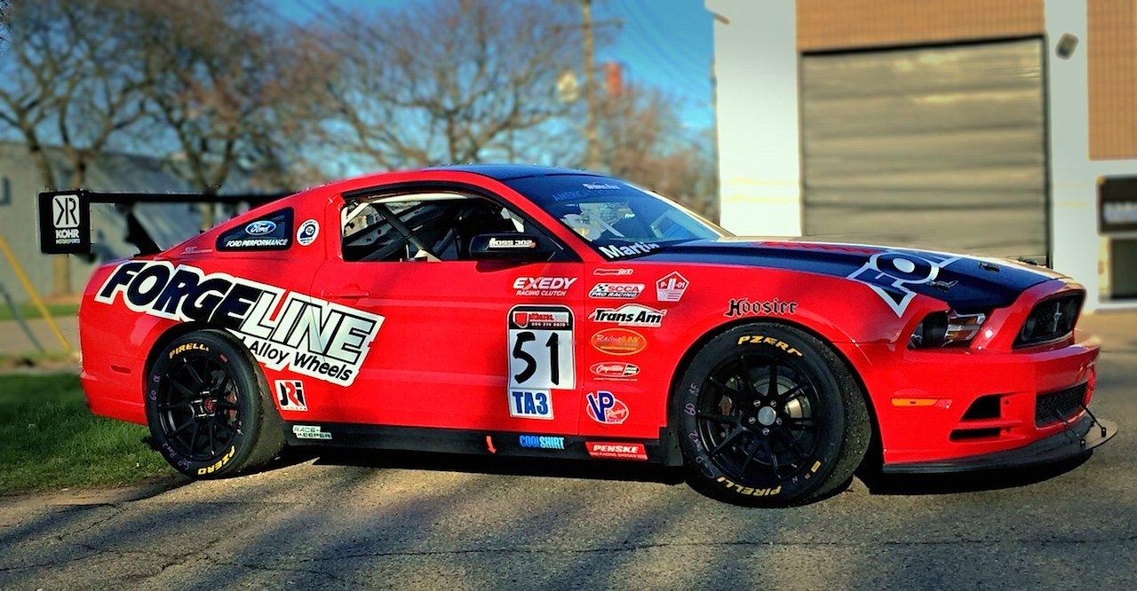 Mustangs on Track at Road Atlanta This Weekend