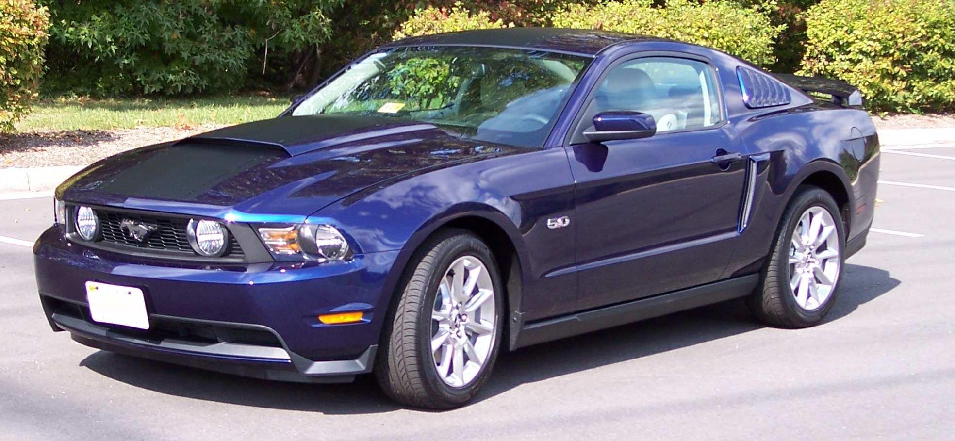 Mustang 2014 Purple