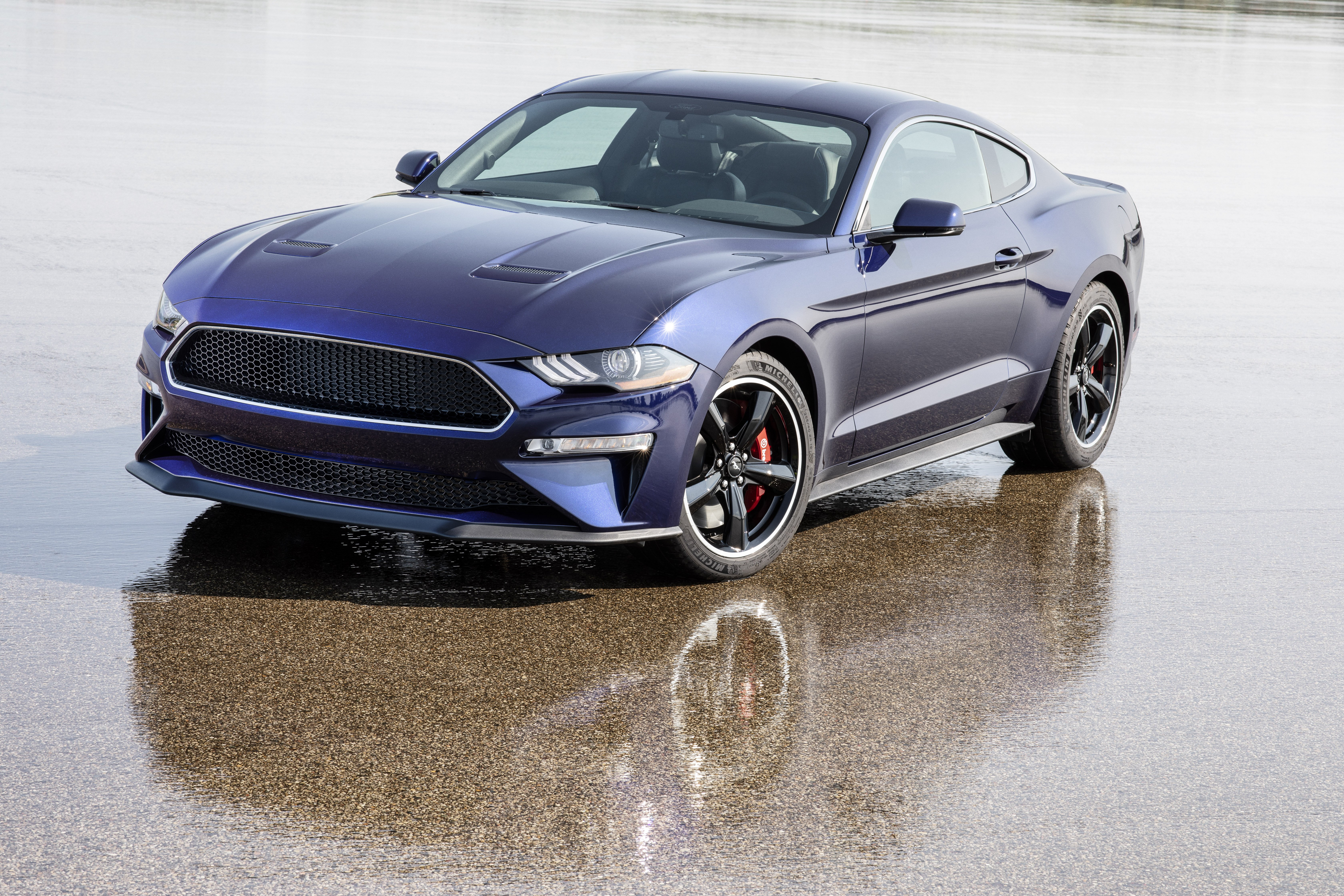Gallery: Ford Builds a Blue Bullitt But it's for a Good Cause