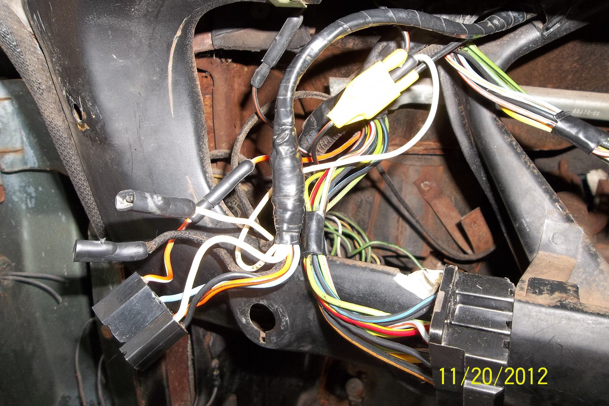 66 single speed wiper w/ washer pump wiring problems - Ford Mustang ...