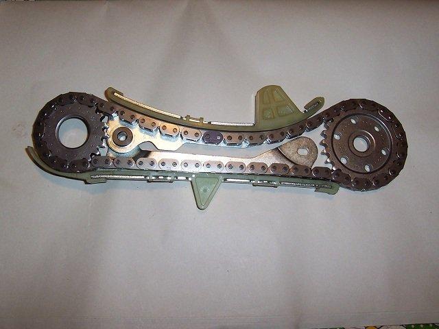 D V Left Timing Chain Cassette Tensioner Left Timing Chain Cassette on Bent Valve On 3 0 Ford Engine