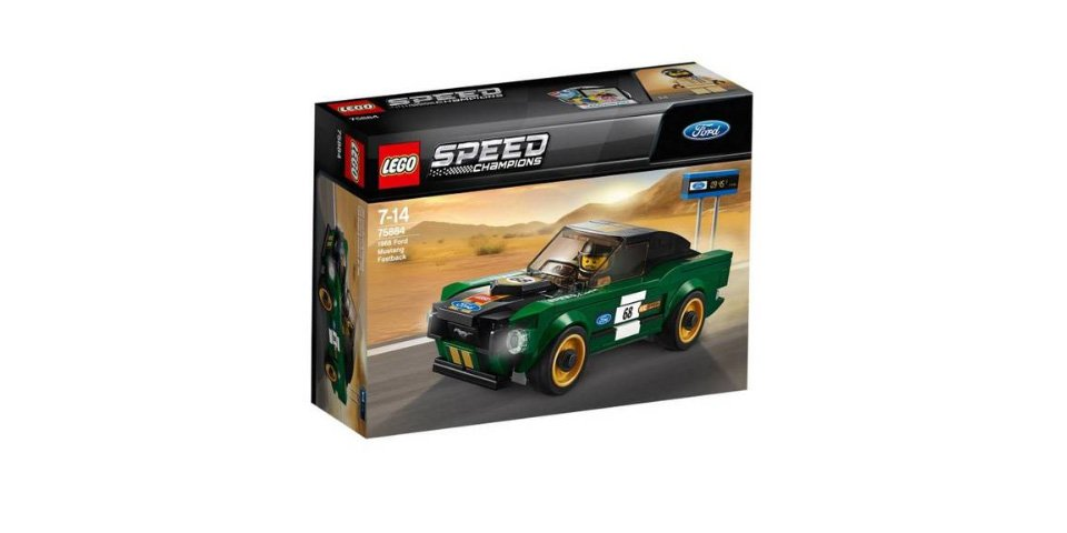 LEGO Speed Champions 1968 Ford Mustang Fastback in green