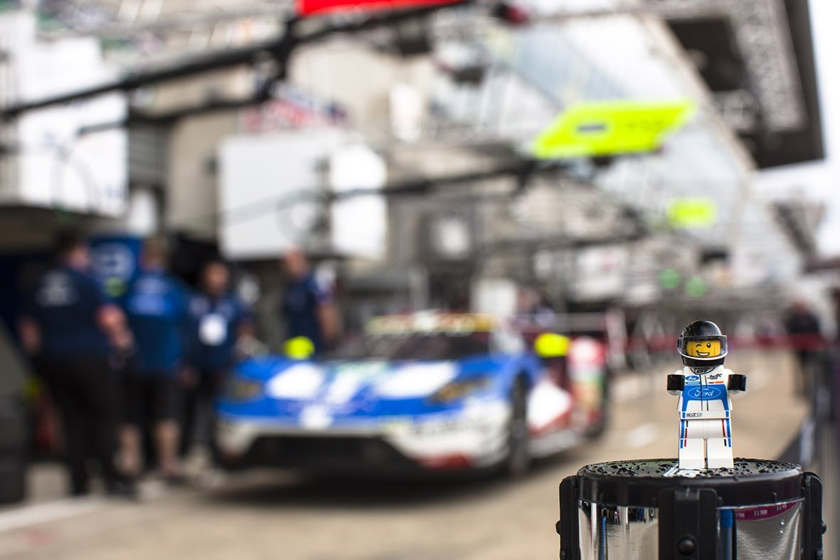 Taking three weeks, 40,000 bricks, and a whole lot of patience – it's the LEGO version of the Ford GT race car that will be raced at the Le Mans 24 Hours.