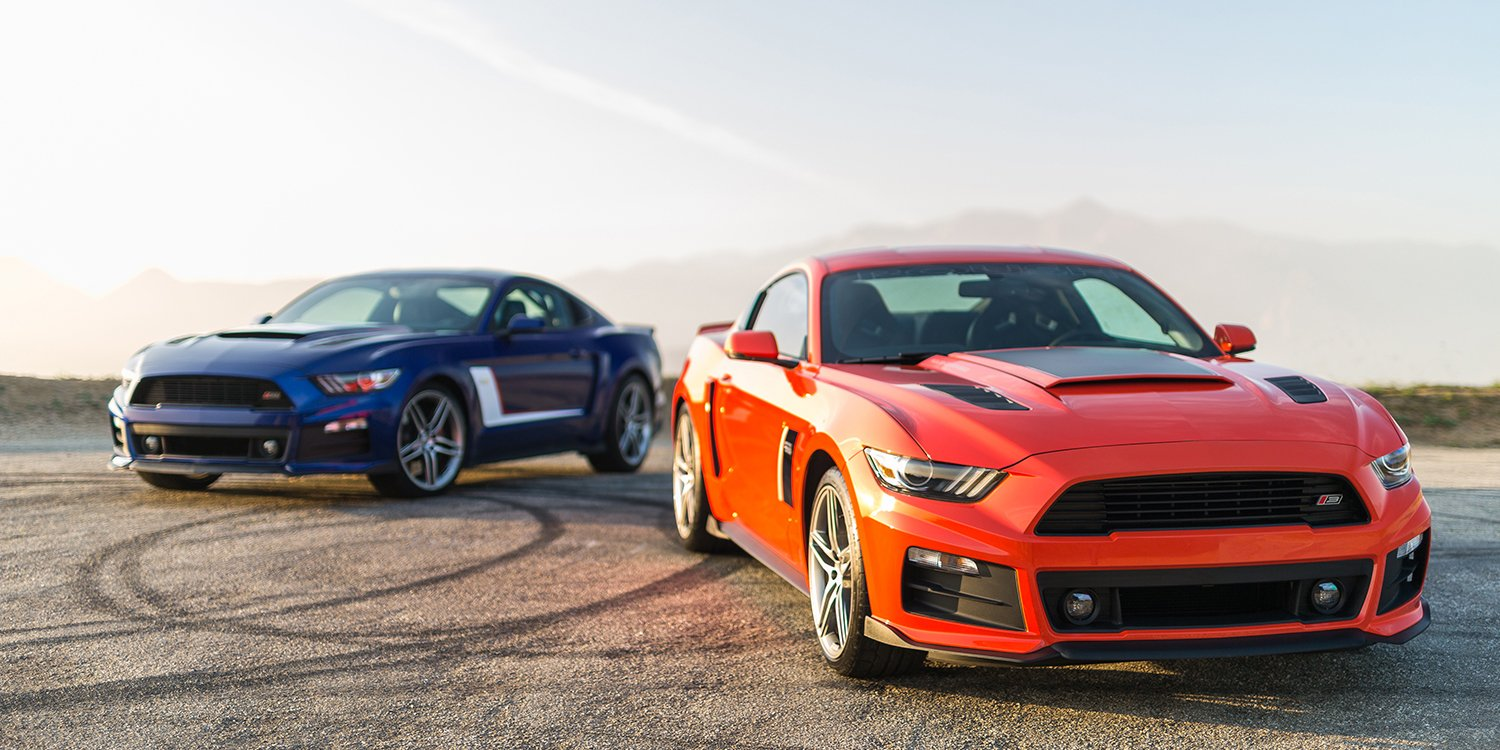 2017 roush mustangs hit the road