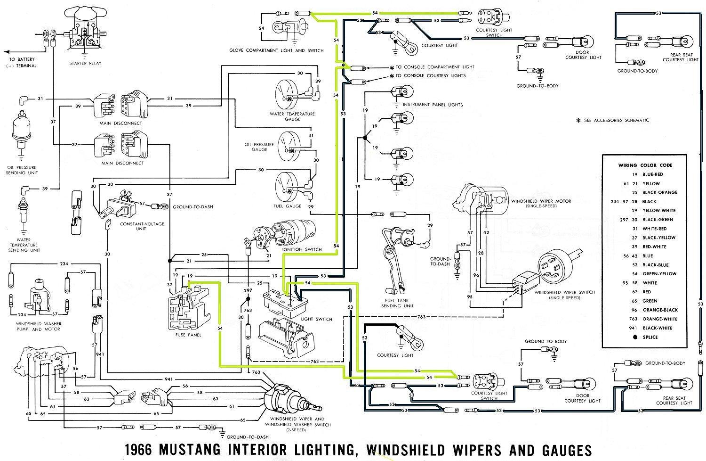 1966 Mustang Interior Lights