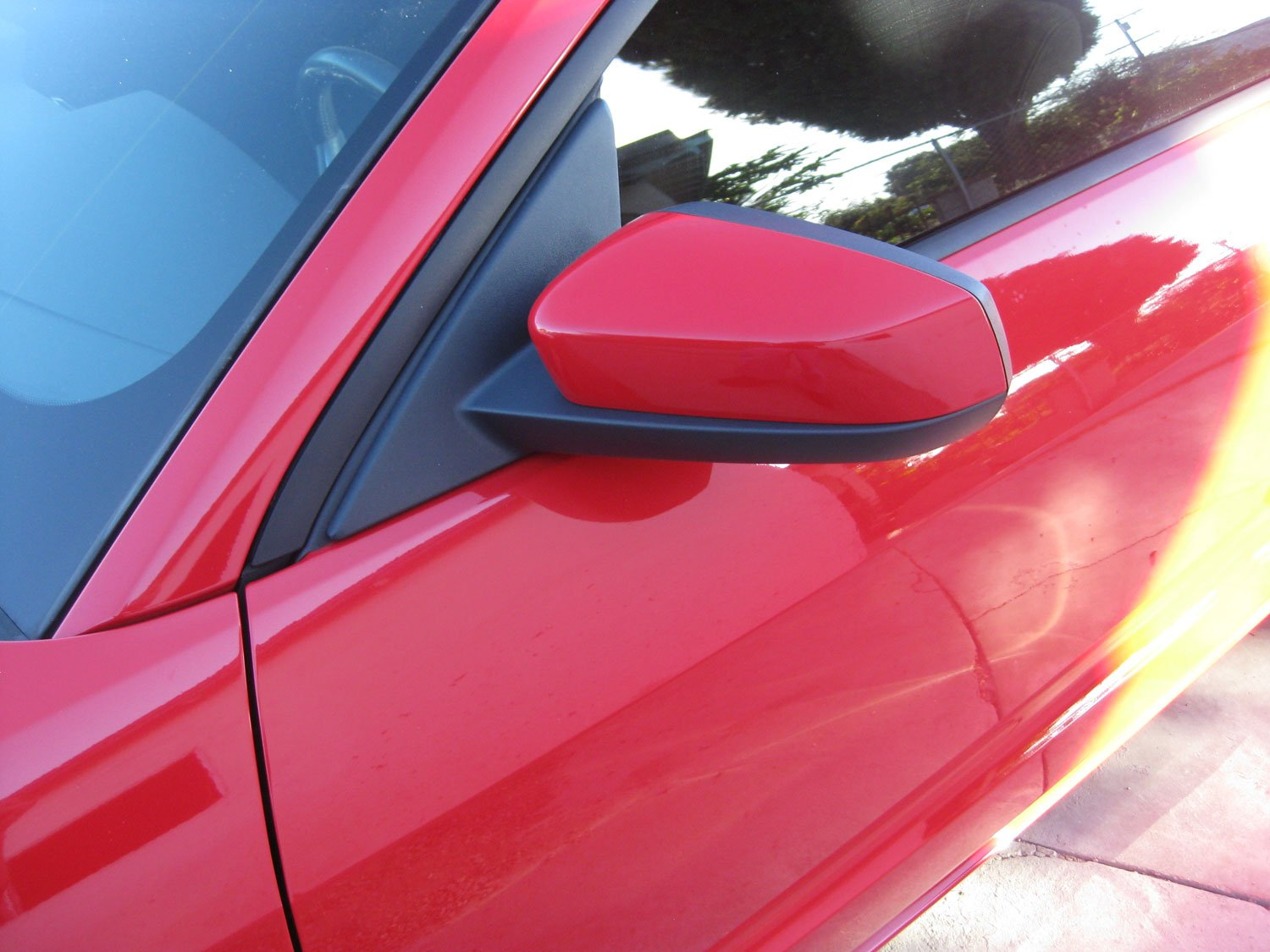 Kona Blue Mustang >> 2010+ Mustang Side Mirrors on 05-09 Installed - Ford ...
