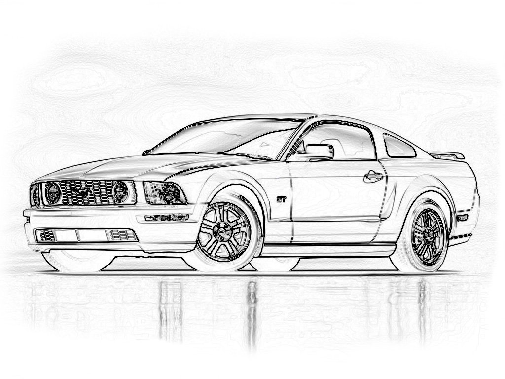 2005  blank mustang for custom painting