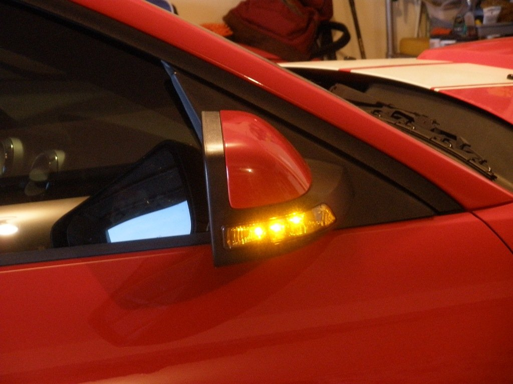 Side View Turn Signal Mirrors Finally Work Ford Mustang