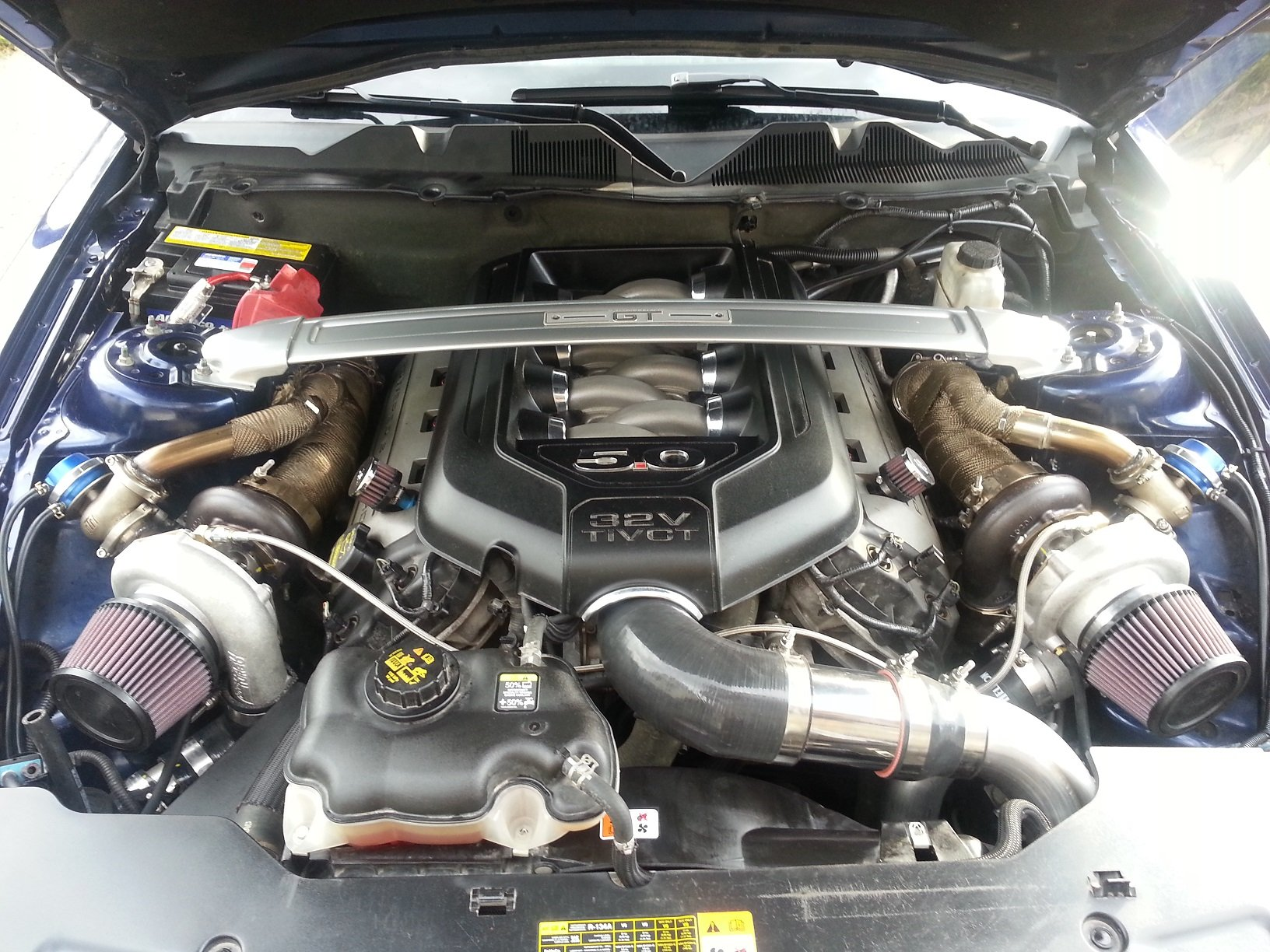 Hellion Twin Turbo Installed Ford Mustang Forum