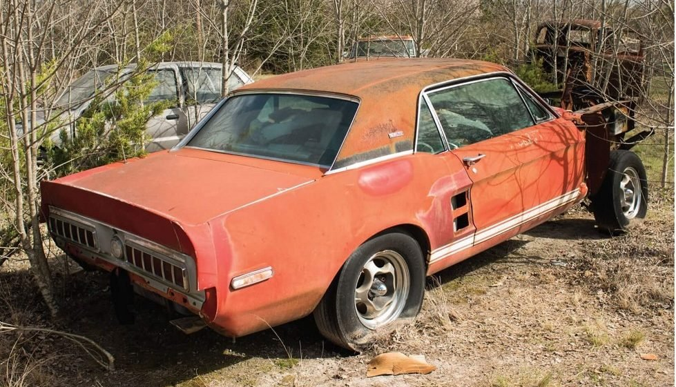First GT 500 Prototype Found in a Texas Field, Now Help Needed to Restore it.