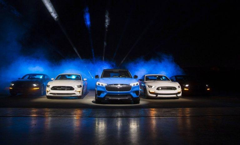 Ford Trademarks G.O.A.T. Modes with USPTO