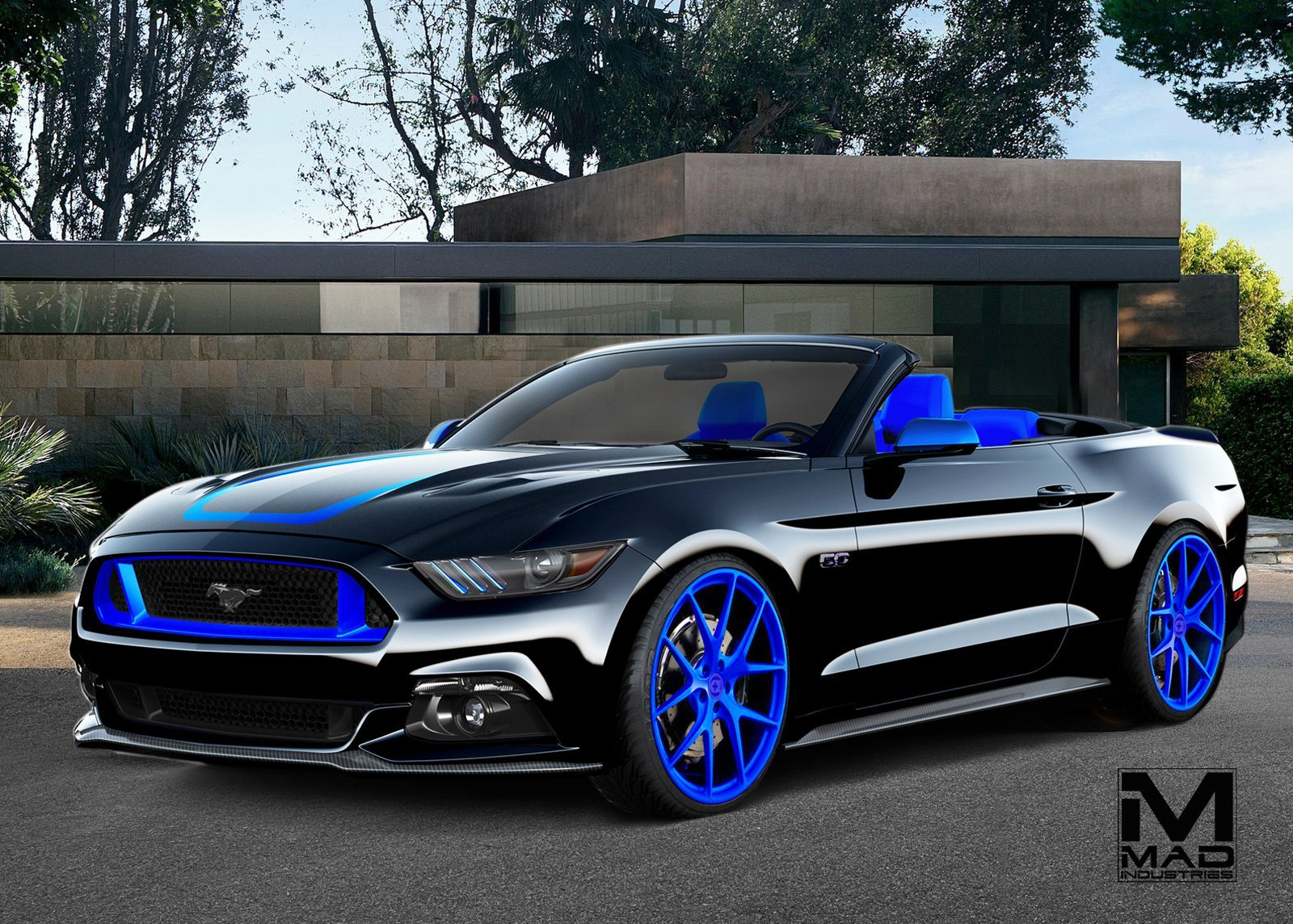 mad industries check out ford's stable of 8 custom sema show mustangs  at bayanpartner.co
