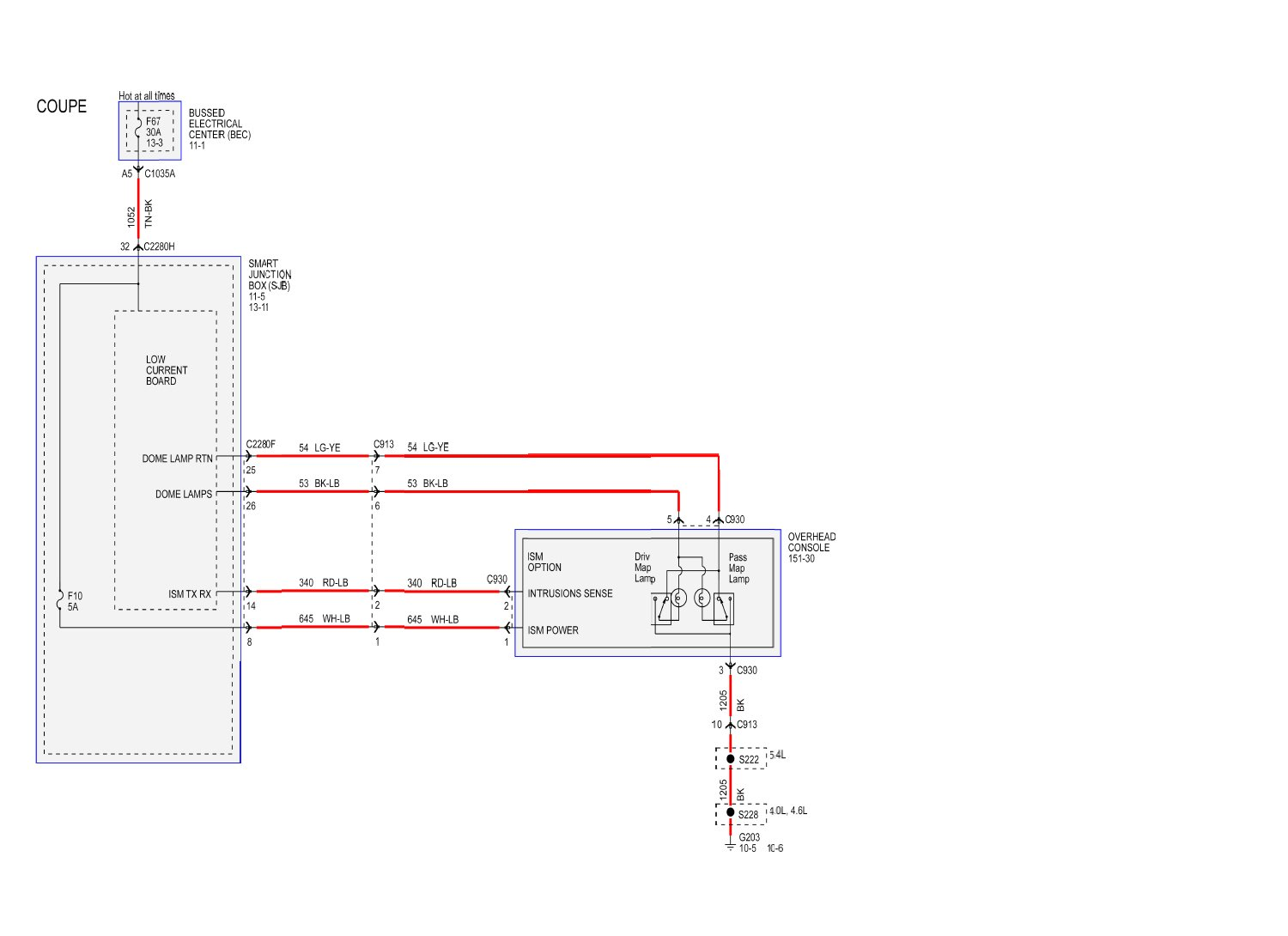 2012 Ford Mustang Courtesy Light Wiring Schematic Diagrams Dome Wireledschematic Wire Data Schema U2022 F100