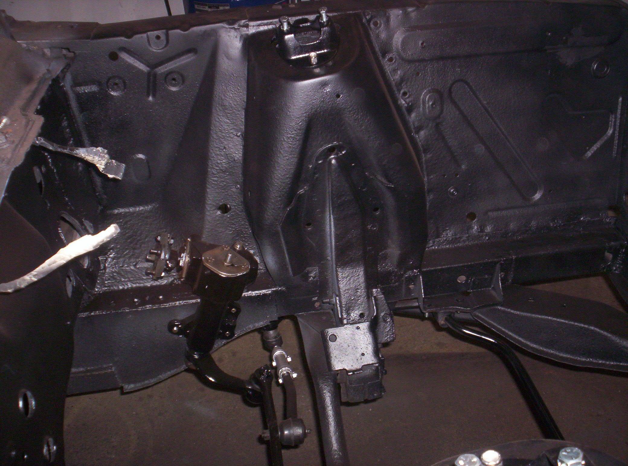 front frame rail repair or replace